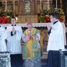fiuvrome2007_his-excellency-archbishop-luigi-de-magistris-celebrates-sunday-mass-at-church-of-gesu-e-maria