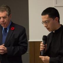 Mr. Allan Garneau & Fr. David Franco (FSSP)