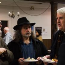 Mr. Mark Donnelly (Choirmaster) with Dr. Kwasniewski & Fr. William Ashley
