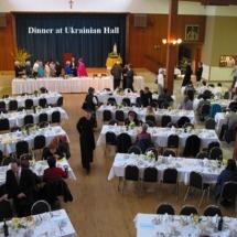 Dinner at Hall