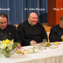 Fr. Donnelly Fr. Horgan Msgr. Newman