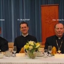 Msgr. Newman Fr. Ryan Abp. Exner