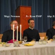 Msgr. Newman Fr. Ryan Abp. Exner2