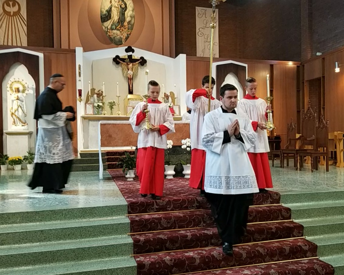 Fr  Ralph Oballo, FSSP's Mass of Thanksgiving, Kelowna, BC